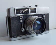 Russian Soviet Drug (Droog) camera with Jupiter 8 lens, 1960-1962, rare