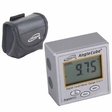 iGaging Angle Cube Digital Magnetic Protractor Gauge Level  Table Saw w/Case