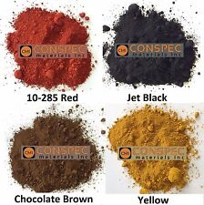 4 lbs Mixed Lot RED BROWN BLACK YELLOW Concrete Color Pigment Dye Art Cement