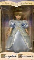 Fairytale Treasures Collection Porcelain Doll, Cinderella