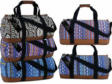 Women's Canvas Travel Holdalls & Duffle Bags