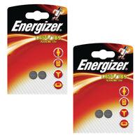 2/4 Energizer Batteries LR54 AG10 1.5v Alkaline Button Coin Cell Battery