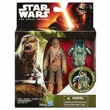 Star Wars The Force Awakens Chewbacca Forest Mission Armor 3.75-Inch Figure