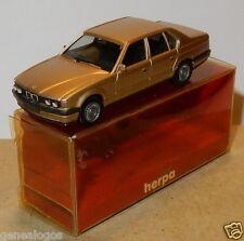 MICRO HERPA HO 1/87 BMW 735 I DORE OR METAL IN BOX