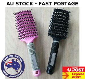AU STOCK FREE POSTAGE Tangle Free Hair Brush Hairbrush Massage Gentle Happy Kids