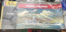 Heller 1:400 Cuirasse Strasbourg Battleship Ship Model Kit