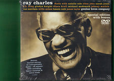 RAY CHARLES - GENIUS LOVES COMPANY SPECIAL EDITION CD + DVD  NUOVO SIGILLATO