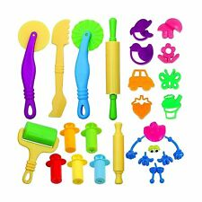 JPSOR 26 Pcs Smart Dough Tools Kit with Molds and Extruder Tools, Animal and ...