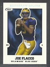 2008 Sage Hit Saturday Colors - Rookie - #S-4 - Joe Flacco - Delaware Blue Hens