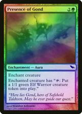 Presence of Gond FOIL Shadowmoor HEAVILY PLD Green Common MAGIC CARD ABUGames