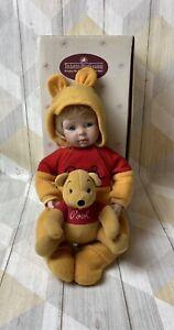 The Ashton Drake Galleries You Need A Hug Winnie The Pooh Porcelain Doll
