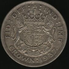 More details for 1937 george vi silver crown coin | british coins | pennies2pounds