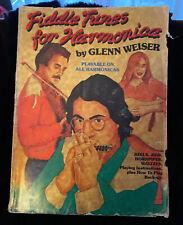Fiddle Tunes for Harmonica by Glenn Weiser 1987 - Reels Jigs Hornpipes Waltzes