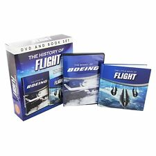 THE HISTORY OF FLIGHT NEW DVD & BOOK GIFTSET STORY OF BOEING DVD & LITTLE BOOK