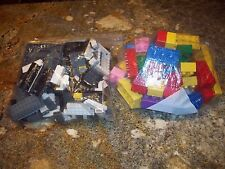 2 LARGE BAGS OF OLD LEGO PIECES VG COND CHEAP