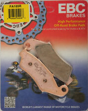EBC R Series Long Life Sintered Brake Pads / One Pair (FA185R)