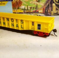 Athearn 91435  50' Gondola Illinois Terminal  ITC HO scale train car for set