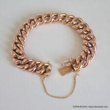 Bracelet Or 18k 750 Maille Gourmette- 36.2grs - Bijoux occasion