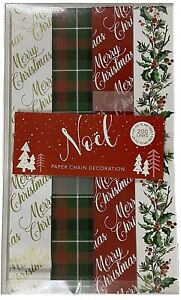 Novelty Christmas Decorations - Make Your Own Traditional Christmas Paper Chain