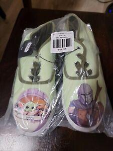 New Women's Mandalorian Shoes Size 10 Baby Yoda Grogu Besties Casual Sneakers