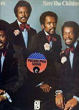 INTRUDERS save teh children HOLLAND 1973 EX LP