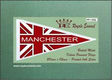 Royale Scooter Antenna Flag Classic MANCHESTER RED UNION JACK MOD FP1.1032