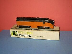 HO Vintage Tyler (Tyco) Little Trains: Sharknose Diesel w/Box. Metal RTR, C-7 bd