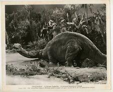 Dinosaurus! 1960 Original Photo Sci Fi Monster Dinosaur Prehistoric Film J2735