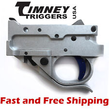 Timney Drop In Competition Trigger Group for Ruger 10/22 - Silver Housing w/Blue
