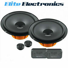 "HERTZ DSK165.3 DIECI 6.5"" 2-WAY 80W RMS COMPONENT SPLIT SPEAKERS"