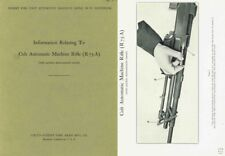 Browning 1942 Automatic Rifle 1918A2 Colt R75A Supplement