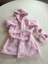 Le neonate Abiti 9-12 mesi - in Pile Robe Vestaglia & Pantofole