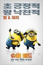 DESPICABLE ME Movie POSTER 11x17 Korean I Julie Andrews Ken Jeong Jason Segel