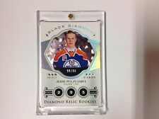 2016-17 UD Black Diamond Relic Rookies Triple Diamond JESSE PULJUJARVI 99/99 !!!