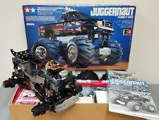 """Partial Built"" Original Tamiya R/C 1/10 Juggernaut Ford F350 #58232"