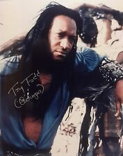 "Xena Tv Autograph 8x10 Photo signed by Tony Todd ""Cecrops"" (Lhau-777)"