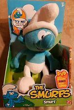 The Smurfs Plush Play Along Smurf With DVD ~ Jakks Pacific / Peyo 2008