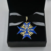 German WW1 Imperial Blue Max Medal Award WORLD WAR 1 with Collection Box