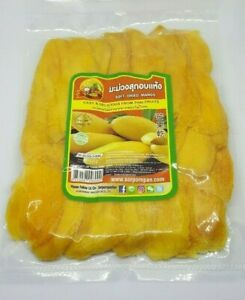 Mango Dried Varies 200-1000 g Slices THAILAND Natural Fruit Worldwide Shipping
