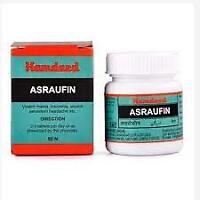 Hamdard Asraufin Unani Medicine 50 tabs free shipping