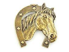 PFERD  ***   HORSE     *   Metallfigurchen    Kühlschrankmagnet