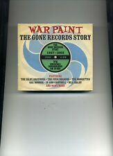 WAR PAINT - THE GONE RECORDS STORY - 1957 - 1962 - BILL HALEY - 3 CDS - NEW!!