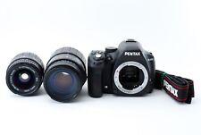 Pentax K-50 16.3MP Digital SLR Camera W/ Due Lente Set [ EXC da Giappone F / a S