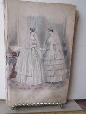 Vintage Print,WEDDING COSTUMES,Ladies Repository,1857