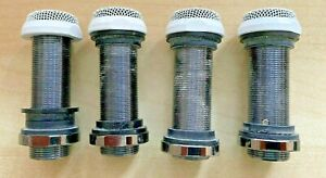 4 x Ceiling Boundary Microphones