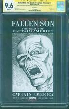 Captain America 3 CGC SS 9.6 Red Skull Original art Civil War movie no 8