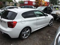 BMW 1 2 SERIES 3DR F21 BMW F22/23 OFF SIDE  RIGHT DOOR HANDLE  BREAKING F20 F21