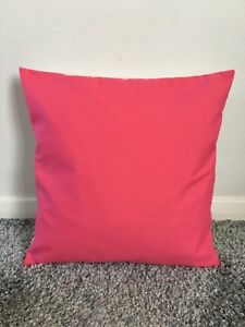 """NEW 10"""" PLAIN CERISE HOT PINK CUSHION COVER PILLOW BED SOFA MORE COLOURS SIZES"""