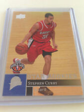 Panini Stephen Curry Not Autographed Basketball Trading Cards
