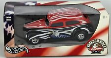 Hot Wheels Freedom Rides Red White & Black Limited Edition Fat Fendered 40 G9238